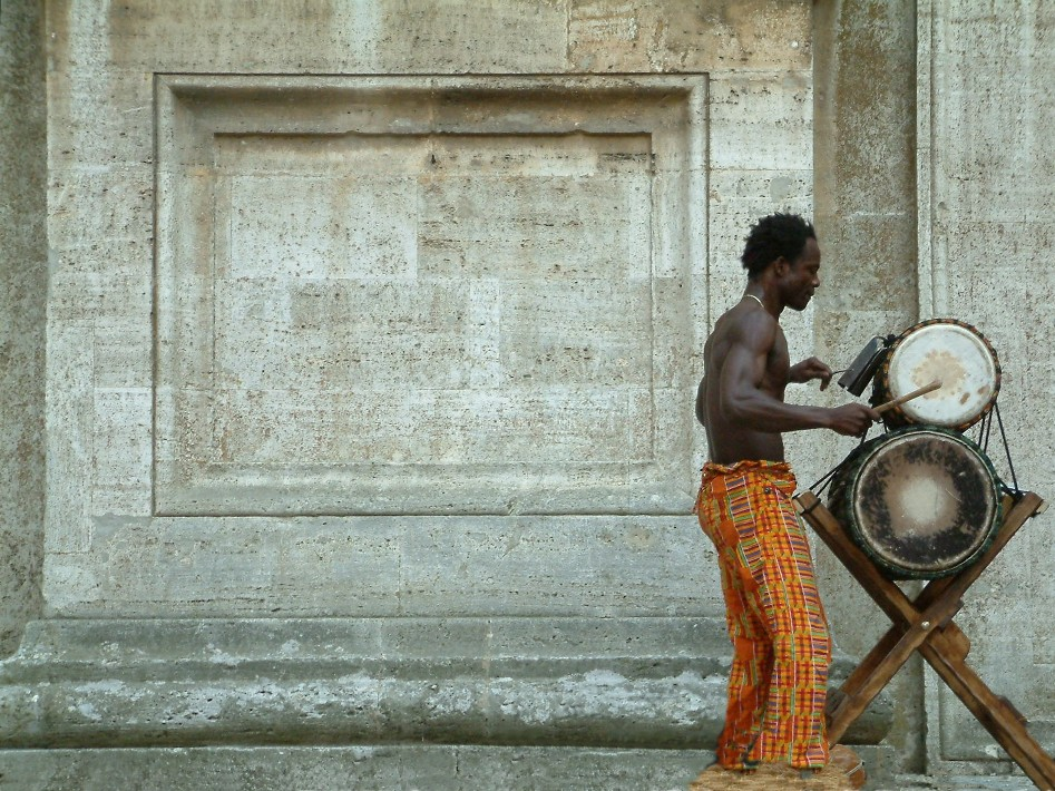 danzatore africano