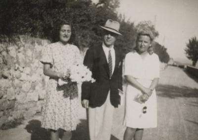Con Anna Neri 1942