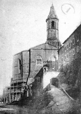 Duomo anni '20 durante restauri