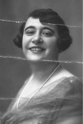 Lidia moglie di Stefano Benocci (Tuscano) 1926