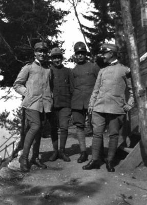 Stefano Tuscano prima guerra mondiale luglio 1917 - indirizzata al tenente Benocci-1