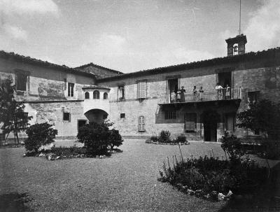 Cortile Conervatorio anni '40